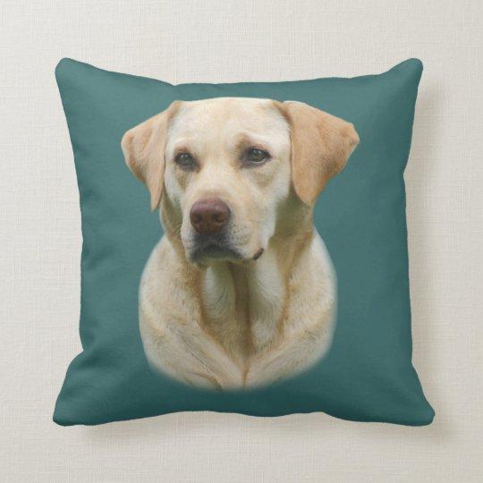 Faithful Friend Yellow Lab Pillow