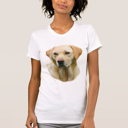 Faithful Friend Yellow Lab Women's T-shirt