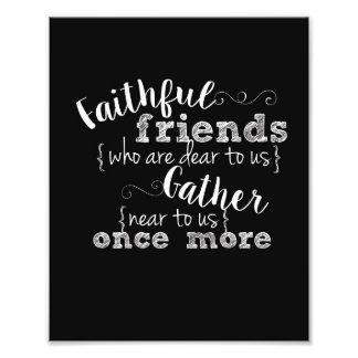 Faithful Friends 8x10 print Photo