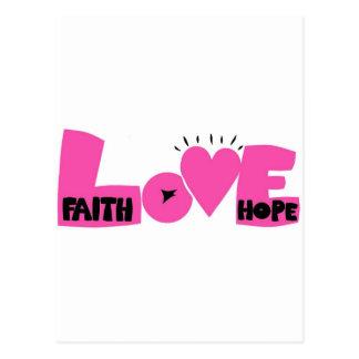 FAITHHOPELOVE POST CARDS