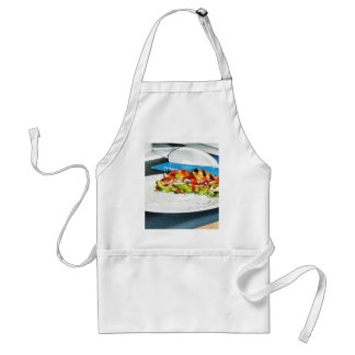 Fajitas Chicken Food Cooking Bell Peppers Onions T Apron