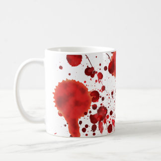 Fake Blood Splatters Coffee Mug