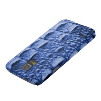 Fake blue croc skin cases for galaxy s5