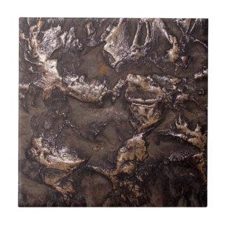 Fake bronze stone texture tile