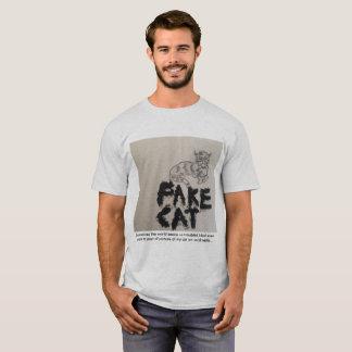 Fake Cat T-Shirt