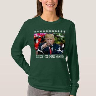 Fake Christmas Donald Trump Ugly Christmas Shirt