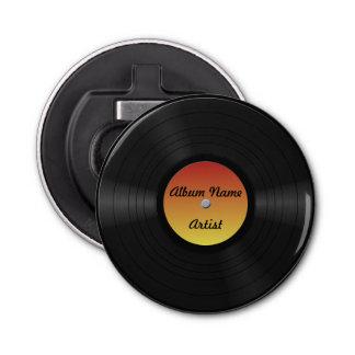 Fake Custom Vinyl Record Bottle Opener