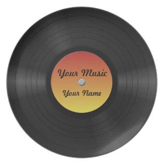 Fake Custom Vinyl Record Plate