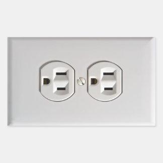 Fake Electrical Outlet Sticker Prank April Fools
