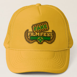 Fake Film Fest Logo Trucker Hat