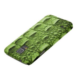 Fake green croc skin galaxy s5 covers