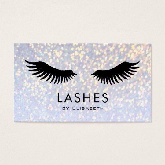 fake lashes on faux sparkle makeup artist business