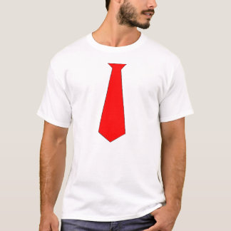 FAKE NECK TIE SHIRT
