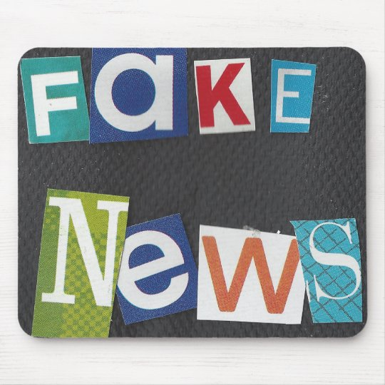 Fake News Mouse Mat