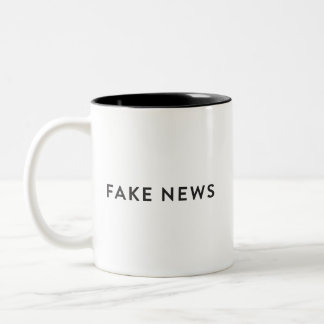 Fake News Mug #FakeNews