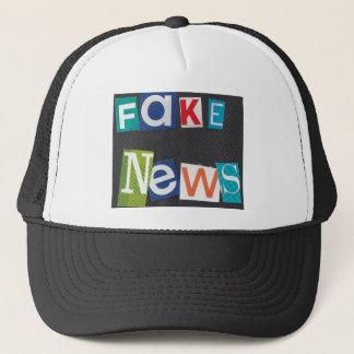 Fake News Trucker Hat