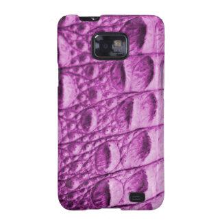 Fake pink croc skin galaxy SII covers