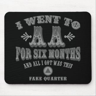Fake Quarters Mouse Pad