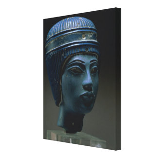 Fake royal head, originally thought to be Tutankha Canvas Print