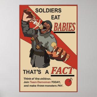 Fake Russian WW1 propaganda poster