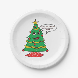 Fake Tree - Funny Paper Plates