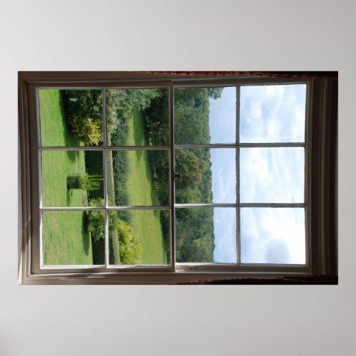 Fake window 2 poster