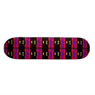Fakie Ollie Slam sk8 Black Designer Skateboard
