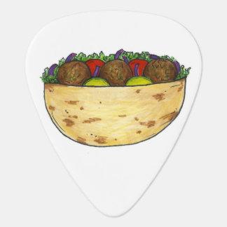 Falafel Pita Sandwich Food Foodie Guitar Pick