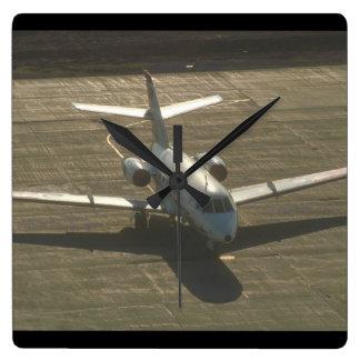 Falcon. (falcon;airplane_Military Aircraft Wallclock