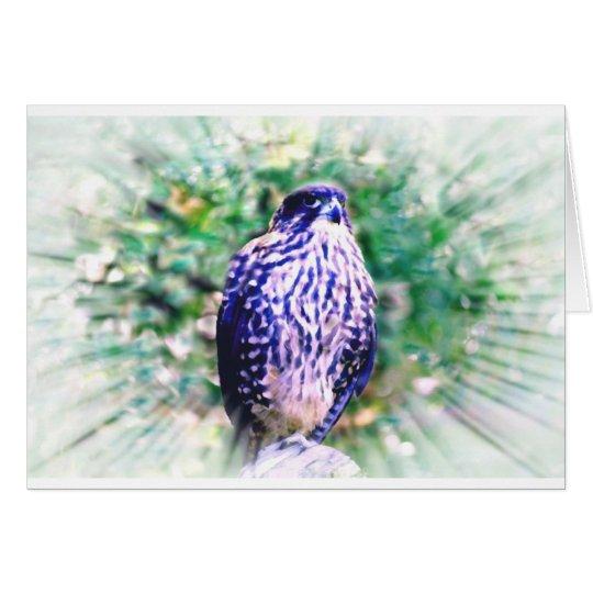 Falcon Greeting Card