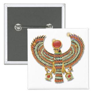 Falcon pectoral 15 cm square badge