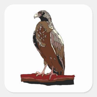 Falcon Square Sticker