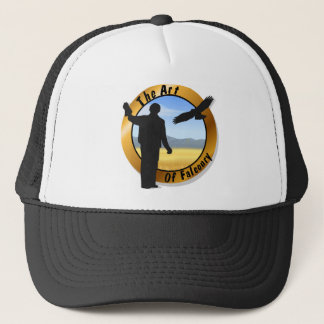 Falconer Medallion Round Cap