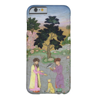 Falconer with companion and pet cheetah, from the barely there iPhone 6 case