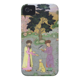Falconer with companion and pet cheetah, from the iPhone 4 cases