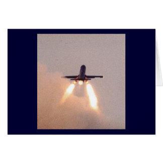 Falconet Launch Greeting Card