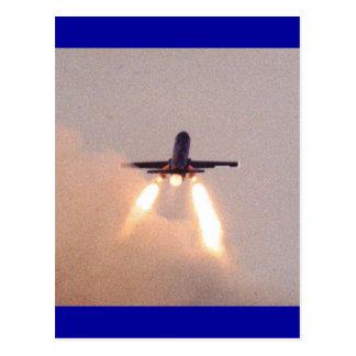 Falconet Launch Postcard