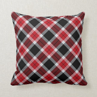 Falcons Colors Plaid Pattern Pillows