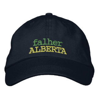 FALHER, ALBERTA, CANADA HAT EMBROIDERED HATS