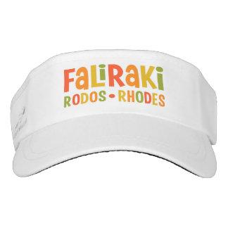 Faliraki Rhodes visor