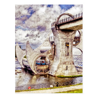 Falkirk Wheel Postcard
