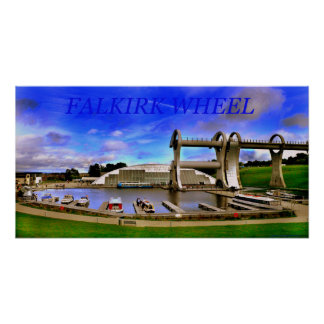 falkirk wheel poster