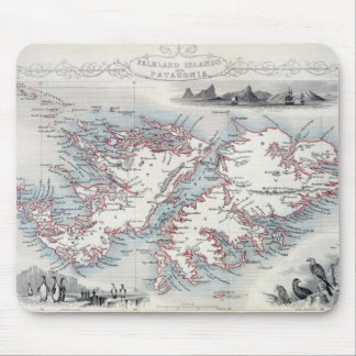 Falkland Islands and Patagonia, from a Series of W Mouse Mat