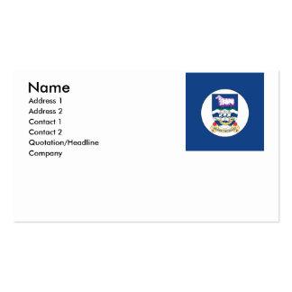 Falkland Islands Pack Of Standard Business Cards