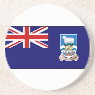 Falkland Islands Flag Drink Coaster