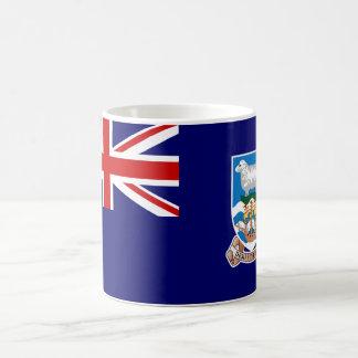 Falkland Islands Flag (Malvinas) FK Basic White Mug