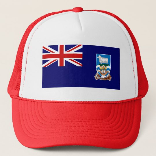 Falkland Islands Flag Trucker Hat