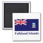 Falkland Islands Flag with Name