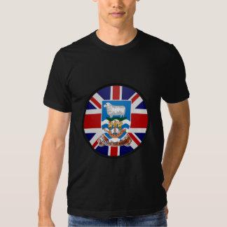 Falkland Islands quality Flag Circle Shirts