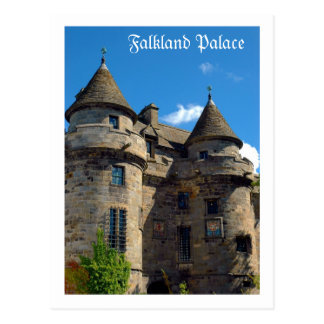 Falkland Palace in Fife, Scotland Postcard